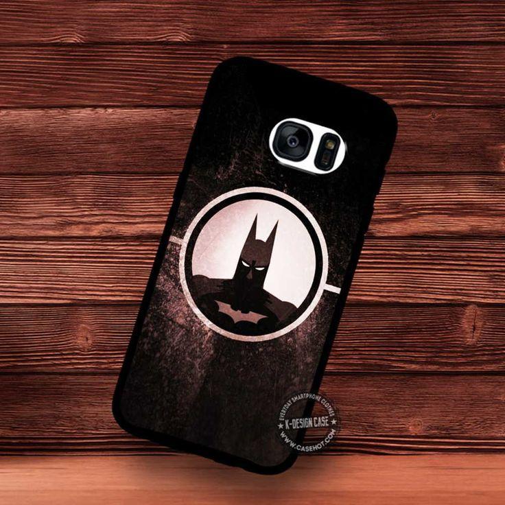 Batman Circle Comics - Samsung Galaxy S7 S6 S5 Note 7 Cases & Covers