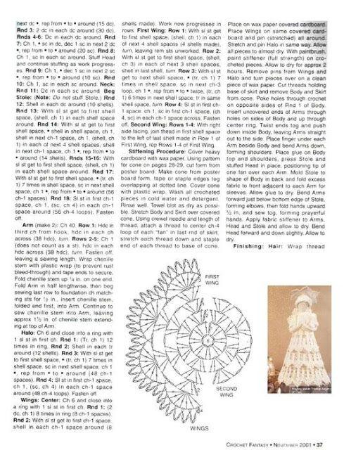 az angyalka minták horgolva - Borbála Darula - Picasa Webalbumok