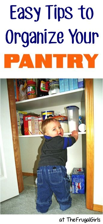 24 Ways to Organize Your Pantry! ~ from TheFrugalGirls.com - get inspired with these pantry organization tips, DIY ideas and organizing tricks! #pantries #thefrugalgirls