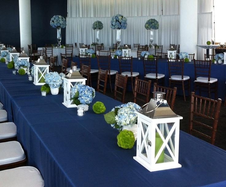 Air Jordan 1 Décorations De Table Bleu Royal Et Blanc