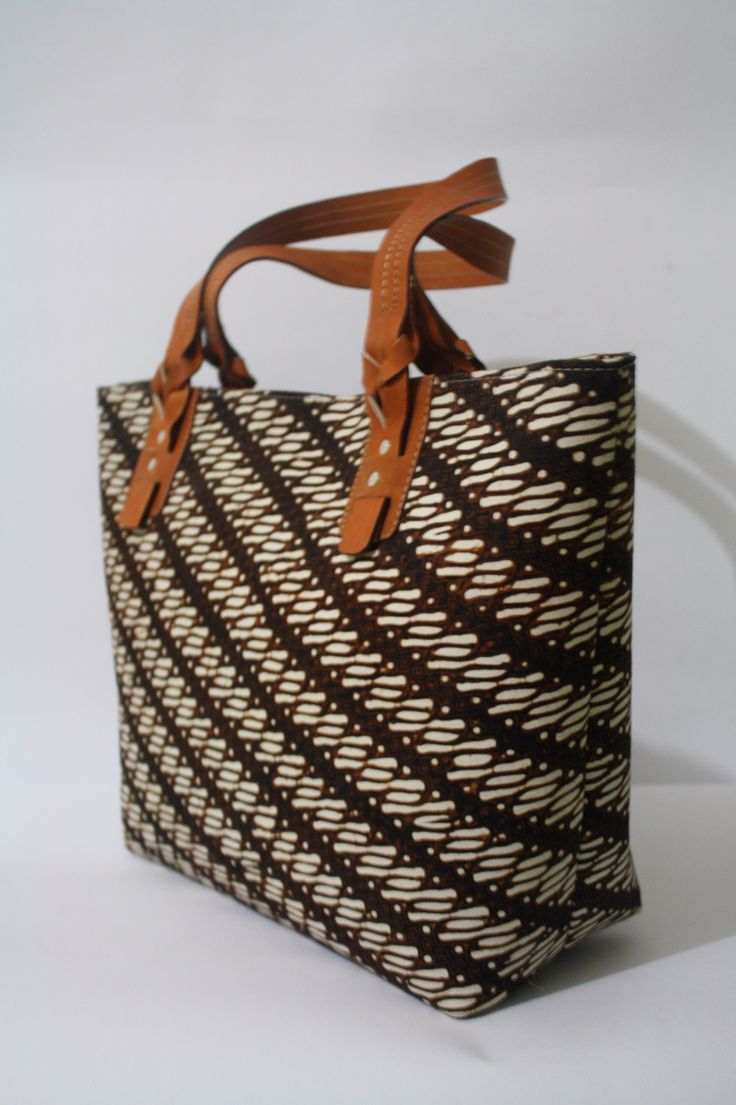 Anjani Tote Bag in Parang Batik combination   #djokdjabatik