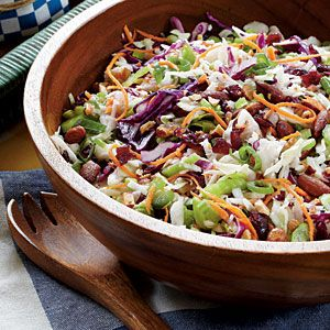 Cranberry Almond ColeslawHealthy Coleslaw Recipe, Coleslaw Salad, Cranberries Almond, Fall Fruit Salad, Fall Salad, Cranberryalmond Coleslaw, Coleslaw Mixed, Cranberry'S Almond Coleslaw, Coleslaw Recipe Healthy