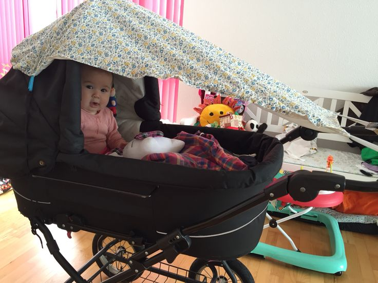 Solskærm / Sunshade for pram https://doityourself.shesmile.de/index.php/de/projekte/9-naehanleitungen-und-schnittmuster/396-sonnensegel-fuer-den-kinderwagen-naehanleitung-und-schnittmuster