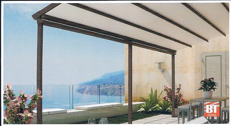 1000 images about terrazas balcones y patios en for Toldos para patios pequenos