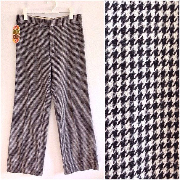 Houndstooth Trousers men's