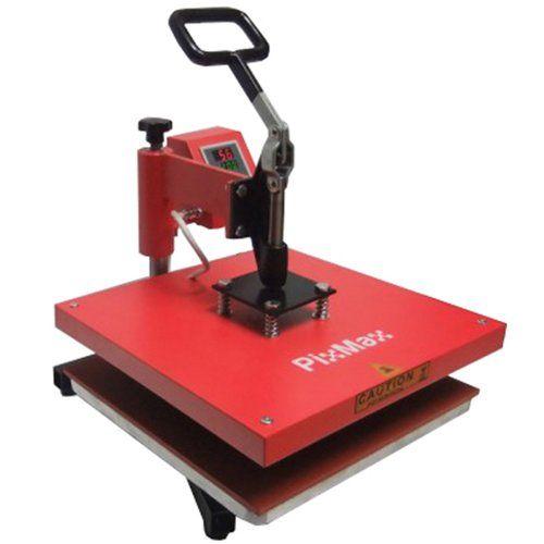 PixMax 38x38cm Swing Heat Press / Pressing Vinyl Sublimation Transfer Printing PixMax http://www.amazon.co.uk/dp/B008Y0I93S/ref=cm_sw_r_pi_dp_YJvYub00WYHFJ
