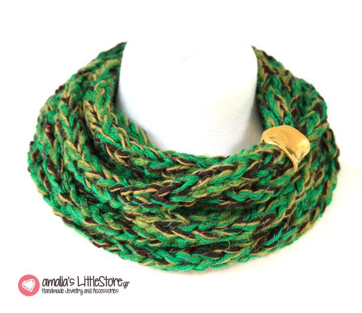 Handmade scarf @  www.littlestore.gr/en