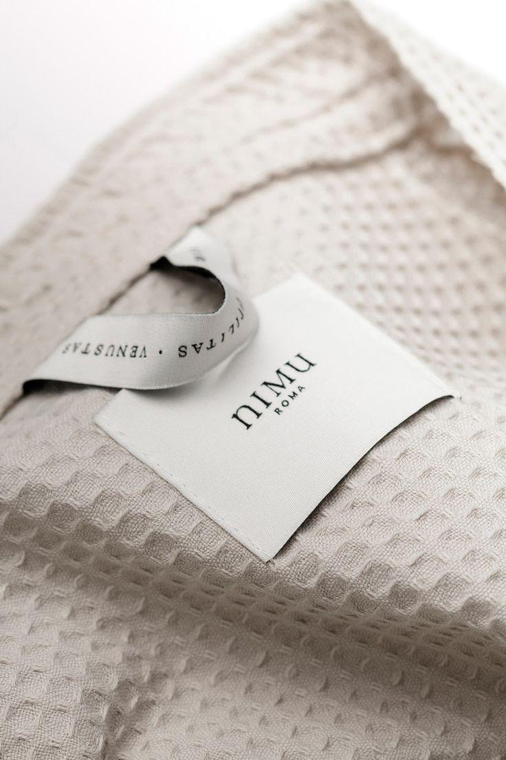 Deutsche & Japaner Nimu Roma Fabric, Branding, Weaving