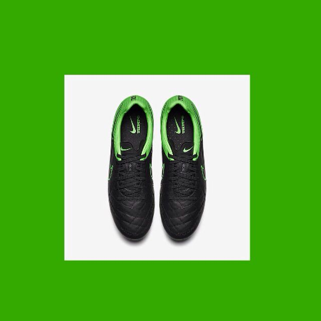 New Nike Tiempo Legend NIKE TECH CRAFT PACK COLOUR: Green & Black