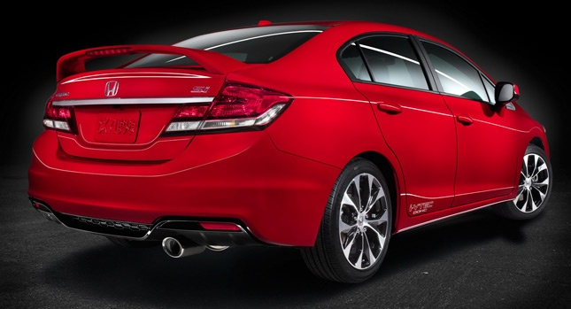 First Look at 2013 Honda Civic Sedan's Interior and Si Sports Edition - Carscoop