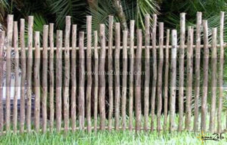 Rustic Eucalyptus Fencing Eucalyptus Fence Panels
