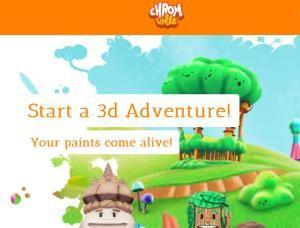 Chromville es una app educativa basada en un juego de realidad aumentada. #juegos realidad #aumentada #educación
