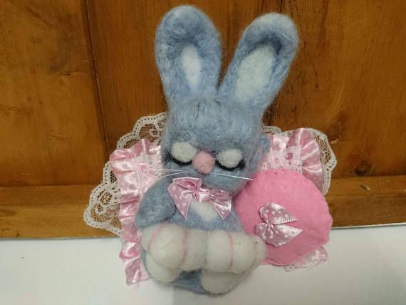 Check out this item in my Etsy shop https://www.etsy.com/uk/listing/548953418/cute-sleepy-bunny-present-needle-felted