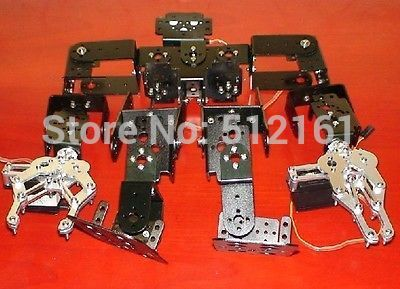 13 servo bracket assembly robot / full bracket assembly humanoid robot