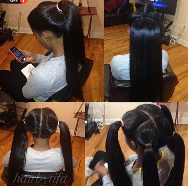 Vixen Sew In I Love Those Long Black Brazilian Hair For