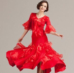 Юбка расширение нижний танец юбка юбка до середины бедра современный танец танцевальный зал танец низ юбка