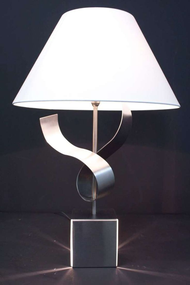 36 best angelo lelli images on pinterest mid century lighting 1970s sculpture table lamp by franois monnet geotapseo Choice Image