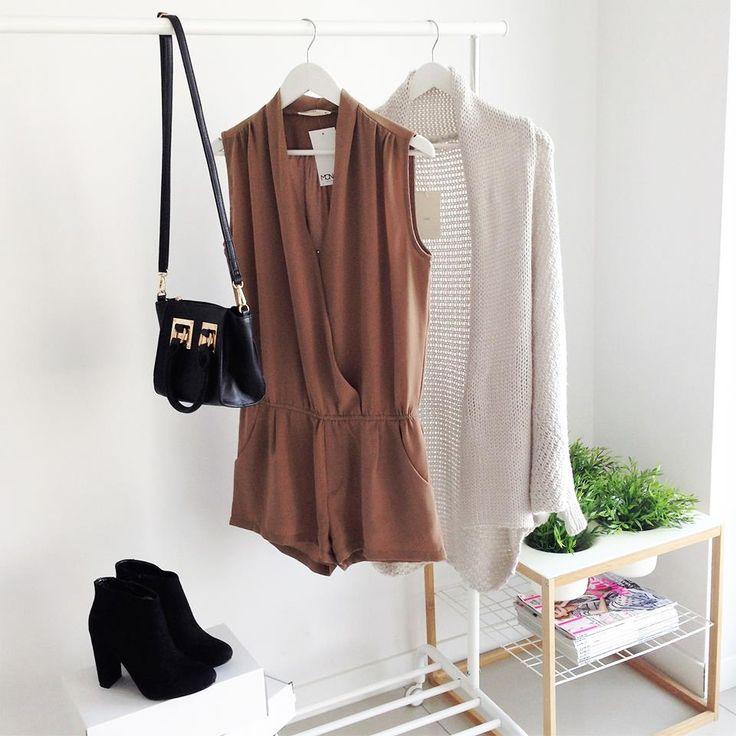 TRIM ROMPER JUMPSUIT / MONASHE.PL - Sklep online z modna odzieza.