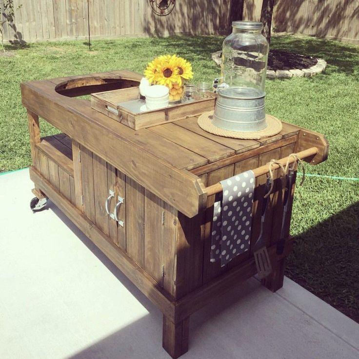 Kamado Joe Outdoor Kitchen: Best 25+ Big Green Egg Outdoor Kitchen Ideas On Pinterest