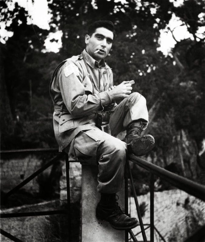 Robert Capa, Photographer, 1943.