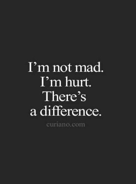 I always allow people to hurt me. From April 9...that changes. Tired...