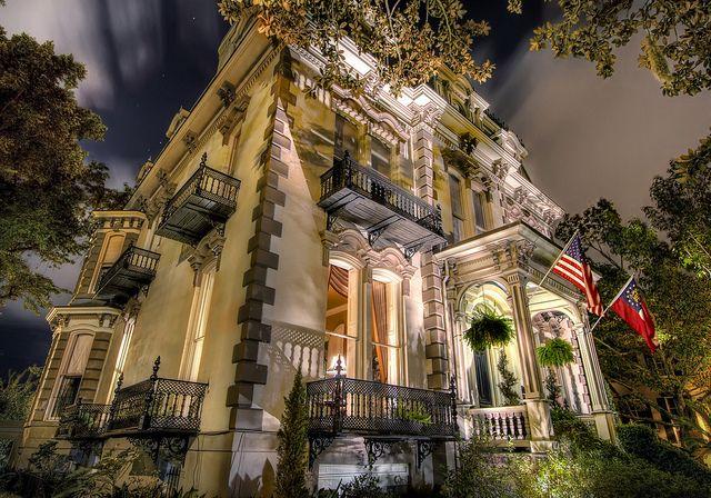 Hamilton Mansion  Savannah GA  Theaterwiz