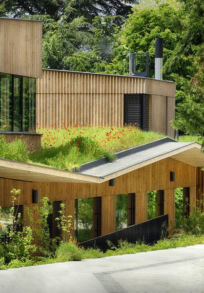 Prix national de la construction bois - PNCB 2014 - Groupe scolaire Paul Chevallier à Rillieux-la-Pape. #FIBRA #bois #architecture