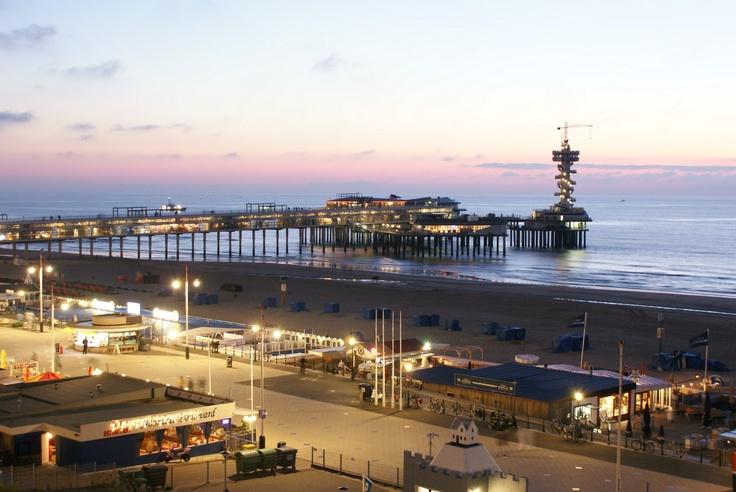View at Scheveningen - The Hague - The Netherlands #pier #holland