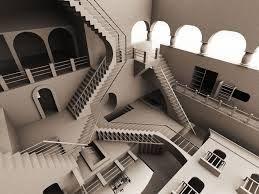 Stairs illusion