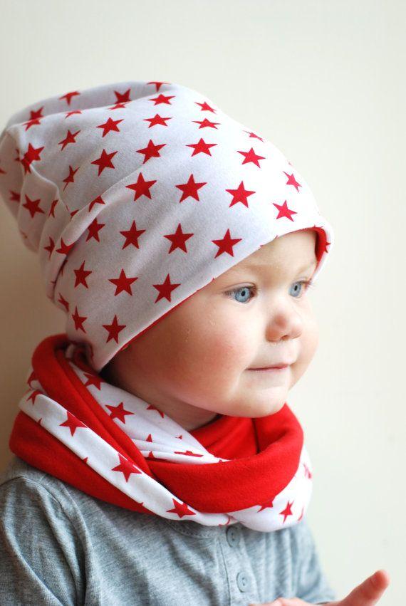 Kids slouchy beanie hat oversize jersey cotton hat by BabitoKids, $20.00