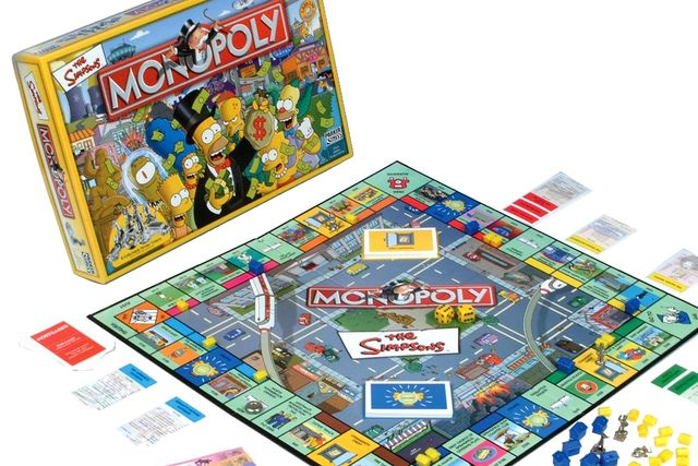 Even More Monopoly Board Games For Geeks. Which One Do You Want?: The Simpsons Monopoly Board Game