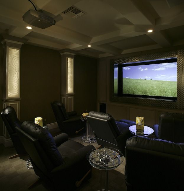Theater Room With Hidden Projector: 1000+ Ideas About Home Theater Setup On Pinterest
