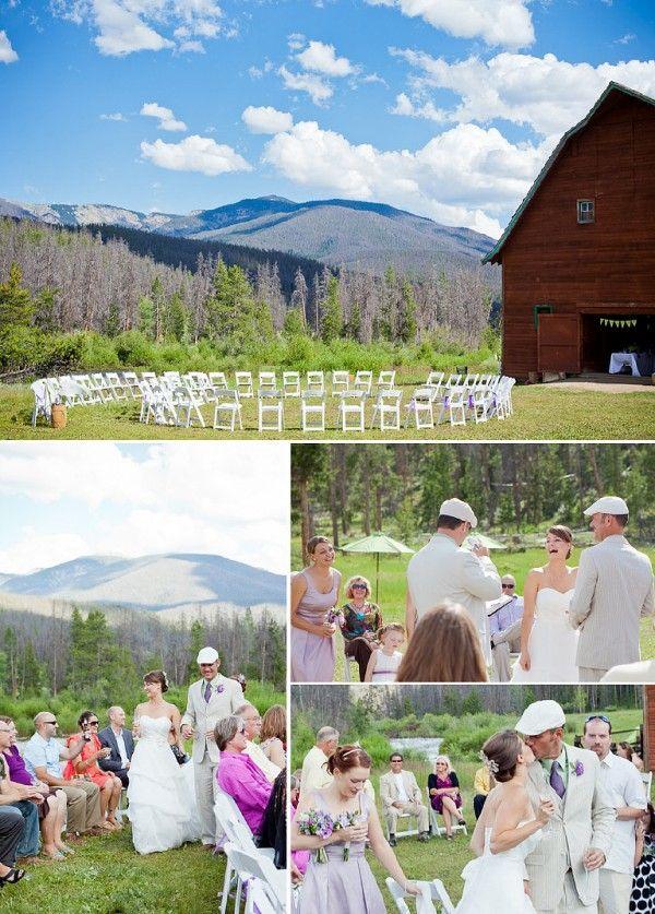 aa barn grand lake colorado wedding venuesbarn