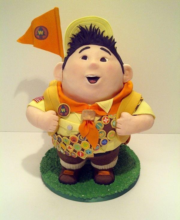 RUSSELL UP PIXAR CAKE OMG #GOALS #DREAMZ