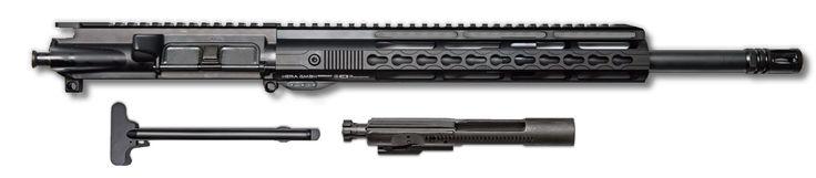 "COMPLETE AR-15 UPPER ASSEMBLY - 16"" / 7.62 X 39 / BCG & CHH INCLUDED / 12"" HERA KEYMOD AR-15 HANDGUARD / RAIL"