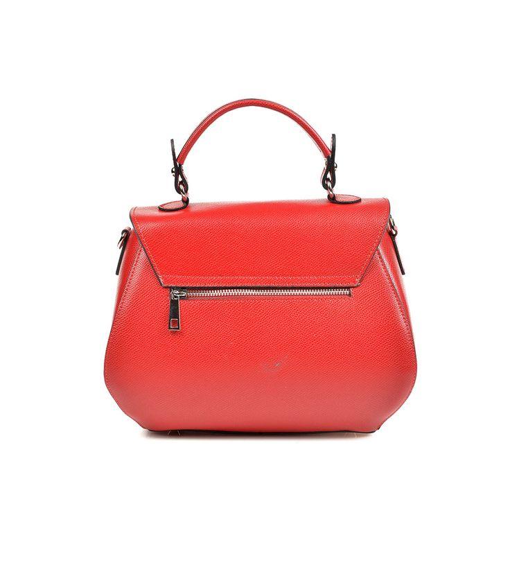 FashionSupreme - Geantă în nuanță roșie Mia - Accesorii - Genţi - Shallure - genți din piele naturală. Haine şi accesorii de marcă. Haine de designer.