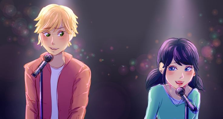 Is this High School Musical Miraculous AU? Love it!!!