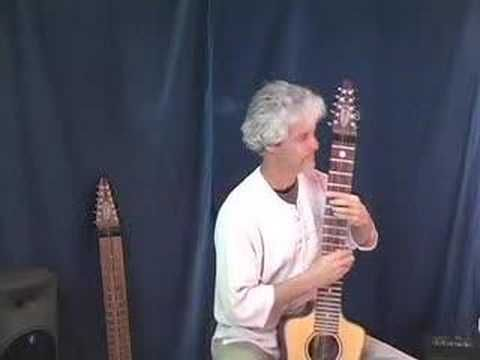 """Bob Culbertson performing """"Little Wing"""" by Jimi Hendrix on the Acoustic Chapman Stick."""