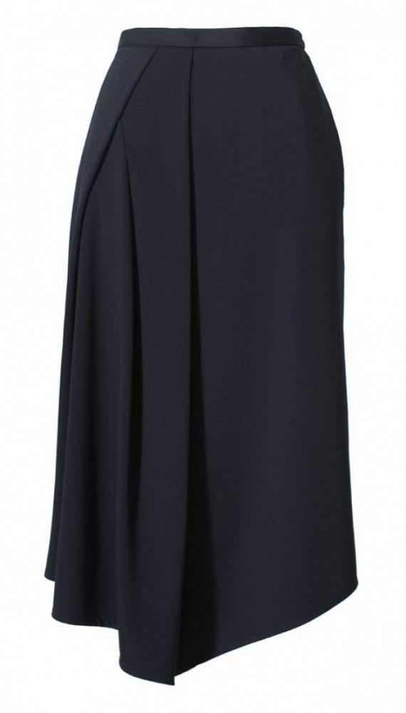 Tibi Jersey Drape Skirt