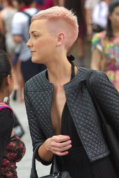 Too short on the shaved side, but I like the top.