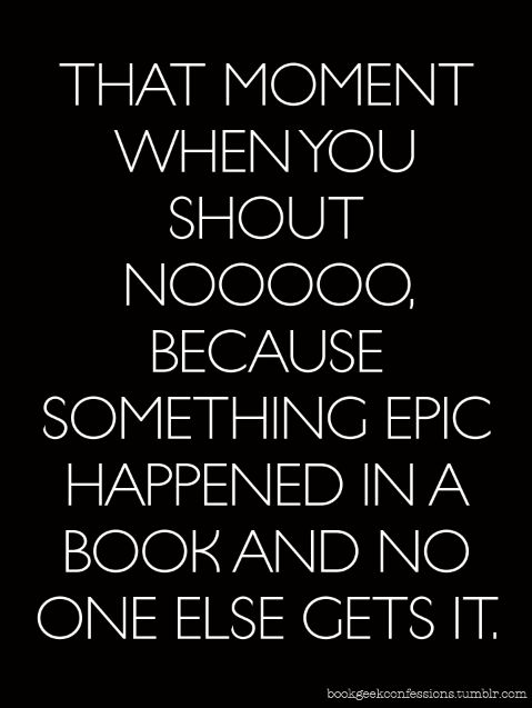 I hate when this happens while you are reading in public!