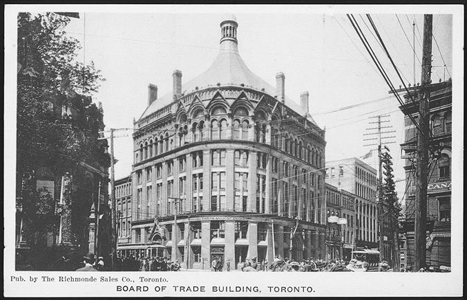Board of Trade Building, Financial District, 1910...