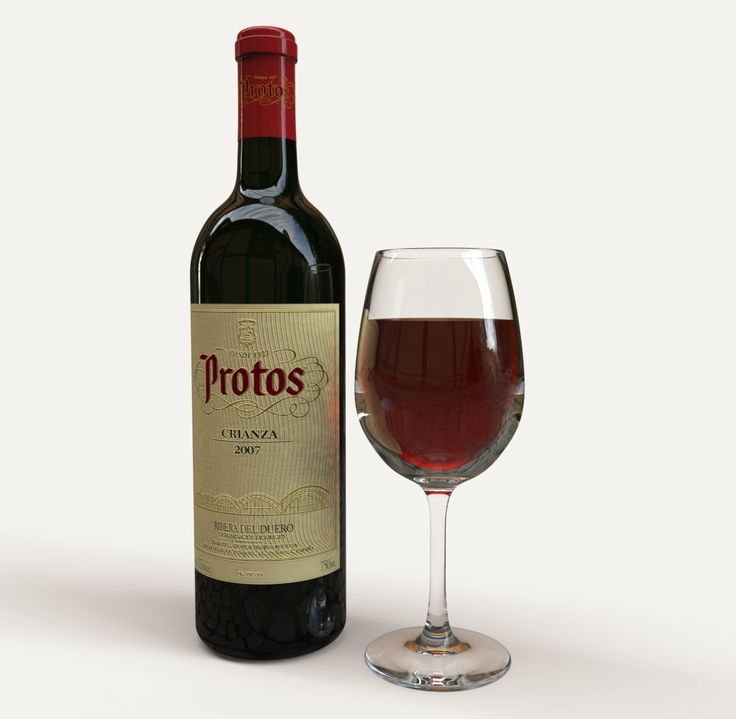 Botella vino+Copa