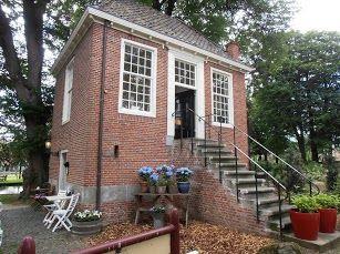 Theeschenkerij in Engels' tuin Ootmarsum