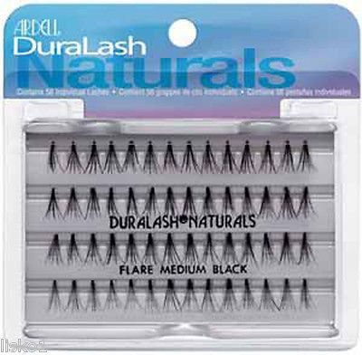 4 Pks Ardell Individual Eyelash Natural Medium Black