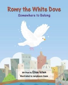 Romy the White Dove flies a long way from home. She is looking for a new start, a new home. Will she be able to fit in with another group?