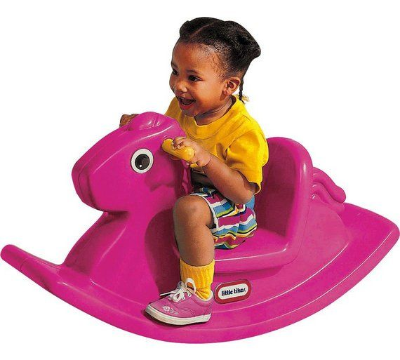 Buy Little Tikes Rocking Horse - Magenta at Argos.co.uk, visit Argos.co.uk to shop online for Baby rocking horses, Baby walkers, ride-ons and trikes, Baby toys, Baby and nursery