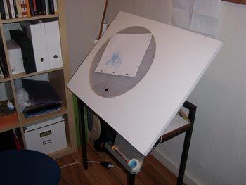M s de 1000 ideas sobre mesa de dibujo en pinterest - Mesa dibujo ikea ...