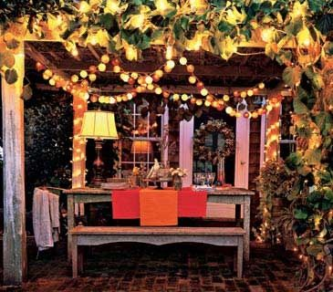 Lighting for Outdoor Entertaining - Patio Deck & Carports Brisbane