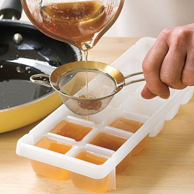 The Test Kitchen offers this tip for freezing leftover grease and keeping it on hand.